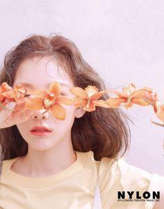 Taeyeon for Nylon Korea March 2019 Issue. Sooyoung, Yoona, Snsd, Girls Generation, Girls' Generation Taeyeon, Taeyeon Wallpapers, Kim Tae Yeon, Flower Boys, Instyle Magazine