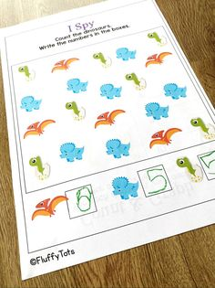Dinosaur Counting 1 to 10 activity printables. Just print and go, perfect for your math centers activities. Great for at home learning. Dinosaur Printables, Dinosaur Activities, Counting Activities, Math Games, Activity Centers, Math Centers, Learning Numbers Preschool, Subtraction Activities, Kindergarten