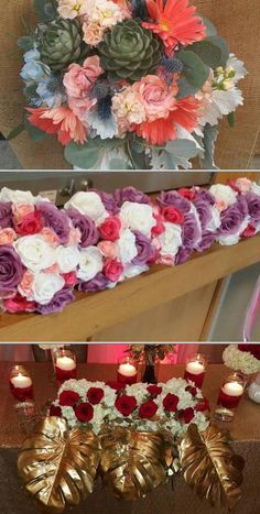 Monica Brown is one of the top florists who can provide your floral needs. She specializes in bridal party florals, vase, and favors, gift baskets, and candy buffets, and more.