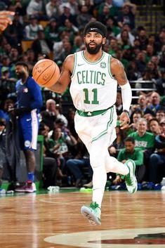 View photos for Photos: Celtics vs. 76ers - Oct. 16, 2018 Kyrie Irving Celtics, Irving Nba, Basketball Skills, Basketball Players, Boston Celtics, Celtics Vs, Nba Quotes, Celtic Pride, Nba Wallpapers
