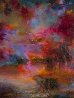 "Saatchi Art Artist Rikka Ayasaki; Painting, ""Passions 7051 (New artwork 100x100cm)"" #art"