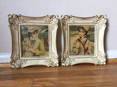Your place to buy and sell all things handmade Vintage Photo Frames, Manet, French Provincial, Renoir, Impressionist, French Vintage, Parisian, Buy And Sell, Framed Prints