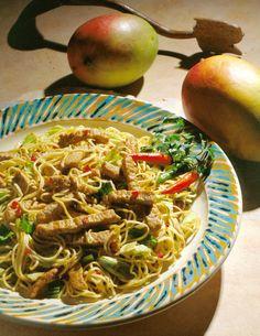 Indonesian Pork Noodle Bowl - Pork Recipes - Pork Be Inspired