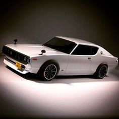 #Throwback car of the day for us would be this classy 1973 #Nissan #Skyline. Do you love or hate this? #ThrowbackThursday #TBT Image source: Jalopnik