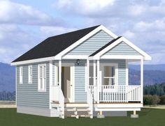 14x28 Tiny House -- #14X28H1I
