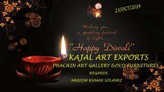wish u a sparkling festival of lights.. Happy Diwali Kajal Art Exports