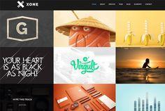 Xone portfolio wordpress theme