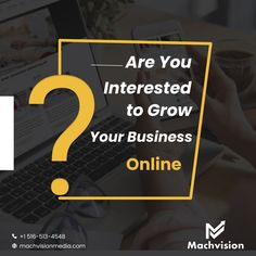 If you are not using #DigitalMarketing, then you are doing something wrong. It is much more effective than traditional advertising methods and yields a better return on investment (ROI). At #MachvisionMedia, we provide complete #DigitalMarketingSolutions ranging from #websitedevelopment to SEO, Google Ads, and Social Media Marketing. Reach our team and discuss your #business goals and achieve them in the timeframe with a minimal budget. Call us today at +1 516-513-4548! Social Media Marketing, Digital Marketing, Advertising Methods, Google Ads, Business Goals, Growing Your Business, Online Business, Seo, Something To Do