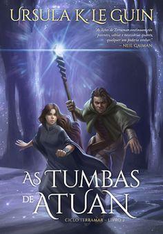 """Saleta de Leitura: Resenha """"As Tumbas de Atuan"""" (Ciclo Terramar #2) d..."""