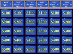 20 Best Jeopardy Powerpoint Template Images Jeopardy Powerpoint