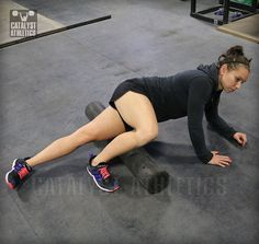 Greg Everett's suggested foam rolling series to prepare for Olympic weightlifting training sessions.