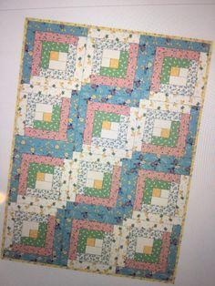 Maywood - Pods - Flannel 12 Block PreCut Log Cabin Quilt Kit ... : patchwork quilt kits pre cut - Adamdwight.com