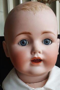 Rare Kestner K 19 Antique German Bisque Doll Dome Head Large 32 Inch | eBay