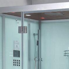 Ariel Platinum DZ959F8 White L Steam Shower 47x89