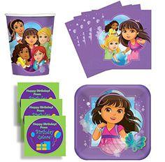 Dora & Friends Grown Up Birthday Party Supplies Set Plates Napkins Cups Kit for 16 Plus Stickers Designware http://www.amazon.com/dp/B00S48ZE4M/ref=cm_sw_r_pi_dp_jA5mwb1VPVF2G