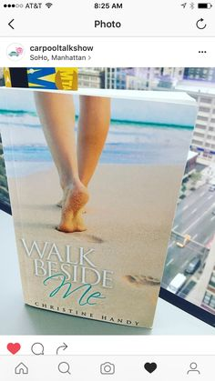 Walk Beside me by christine Handy