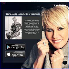 """""""Dana Winner altijd op zak"""" met de originele Dana Winner app."""