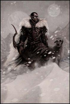 TES: Dunmer of Skyrim by coupleofkooks.deviantart.com on @deviantART