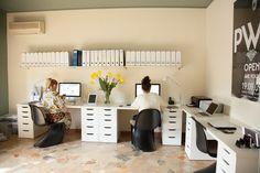 TOUCH this image: Ça c'est le bureau de Natasha! by The Socialite Family