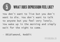 What Does Depression Feel Like? 7 Powerful Quotes That Describe Depression | Psychologia