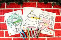 Grab your crayons and get in the holiday spirit with fun Christmas printables for kids | alexbrands.com