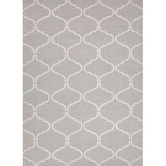 The Conestoga Trading Co. Hand-Woven Gray Area Rug Rug Size: