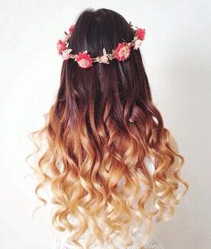 long hair styles and colors for women