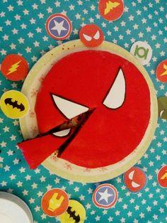 Spider-man super-heros anniversaire
