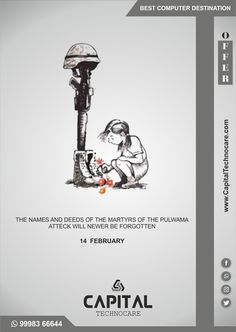 Best Computer, Computer Laptop, Thinking Quotes, Indian Army, Condolences, Rest In Peace, Brave, February, Social Media