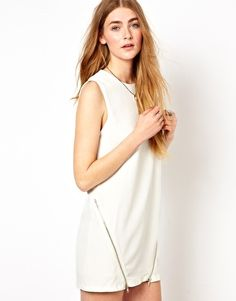 Goldie Shift Dress With Zips #59.60