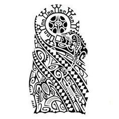 Polynesian Tattoo Drawings | Tribal 30
