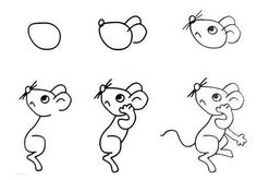 Easy Way How to Draw Sketches of Animal figures Step by Step for Kids ~ Creativehozz About Home Decorating Design, Entertainment, Kids, Creative Ideas, Crafts Easy Fish Drawing, Fish Drawings, Horse Drawings, Cartoon Drawings, Animal Drawings, Drawing Skills, Figure Drawing, Drawing Sketches, Drawing Techniques