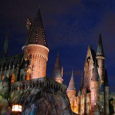 Universal Studios Harry Potter's Wizarding World, Hogwarts. #orlando #universal