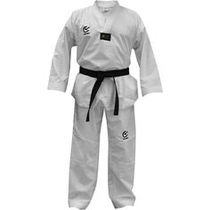 Wacoku Lite WTF Approved Taekwondo Suit WTF approved polyester Taekwondo dobok, super-soft rippled interior and lightweight (8oz). Includes the latest sweat management technologies including ventilated shoulder, waist, hip, underarm and backside areas designed to draw moisture away from the skin.