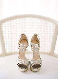 #jimmy-choo | shoes  Photography: KT Merry Photography | Read More: http://stylemepretty.com/2013/05/02/islamorada-wedding-from-kt-merry-photography/