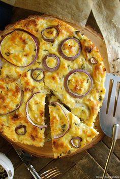 Convert to Keto - Cauliflower Cake with Pecorino Romano & Sweet Basil - Ciao Chow Bambina Cauliflower Cakes, Cauliflower Recipes, Vegetable Recipes, Vegetarian Recipes, Cooking Recipes, Healthy Recipes, Cauliflower Cheese Patties, Beef Recipes, Paleo