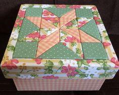 Caixa Geométrica Rosa