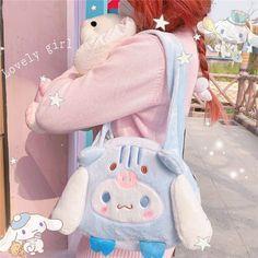Kawaii Bags, Kawaii Shop, Kawaii Clothes, Disney Purse, Japanese Harajuku, Aesthetic Look, Cute Plush, Kawaii Fashion, Plush Dolls
