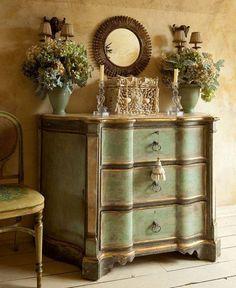 Fransız stili tasarımlarla evinize vintage bir hava katabilirsiniz.