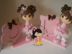 Niña portaretrato Diy Crafts For Gifts, Foam Crafts, Baby Kit, Birthday Decorations, Picture Frames, Minnie Mouse, Projects To Try, Happy Birthday, Baby Shower