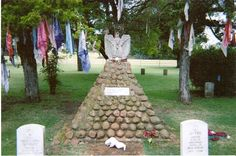 -Geronimo's grave at fort sill oklahoma