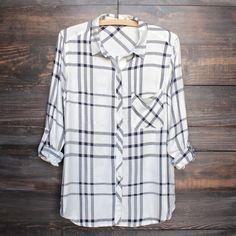 city strut plaid flannel shirt (more colors) - shophearts - 1