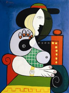 Pablo Picasso - Femme assise