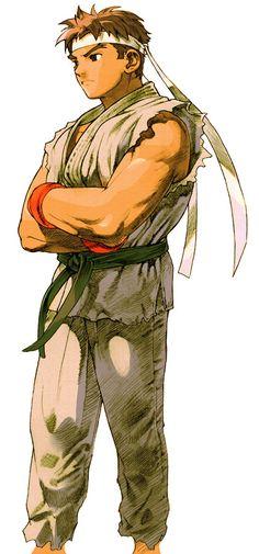 Ryu from Marvel vs. Capcom 2: New Age of Heroes