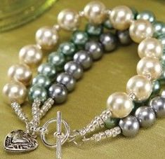 Triple the pearls, and your style, with a Pearl Trio Bracelet made with supplies from Pat Catan's! Learn how make yours or find more jewelry making crafts.