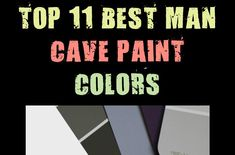 If you're looking to revamp and redesign that old basement or spare room in the house into a man cave, the first thing you'll need to consider is which paint color to go with. A trip to Home Depot or Lowes might give you a general idea, but you're al #colors #paint Man Cave Paintings, Old Basement, Mens Fashion Blog, Spare Room, Home Depot, A Good Man, Lowes, Paint Colors, Diy Crafts