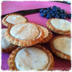 Paleo Vanilla Custard Tarts gonna need to do these Paleo Sweets, Paleo Dessert, Healthy Dessert Recipes, Real Food Recipes, Paleo Food, Paleo Baking, Food Tips, Paleo Diet, Keto