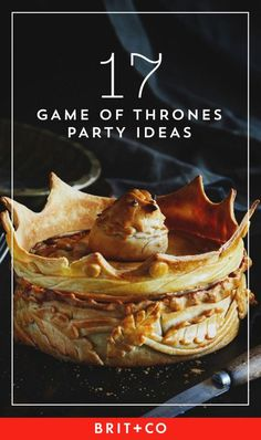 Check out these cool + festive Game of Thrones party ideas.