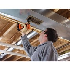 Black+decker Max* Lithium Drill/Driver Kit (Orange w/ Black) - Shock Orange Led Work Light, Work Lights, Cordless Drill Reviews, Speed Drills, Tool Store, Electric Screwdriver, Wood Worker, Drill Driver, Home