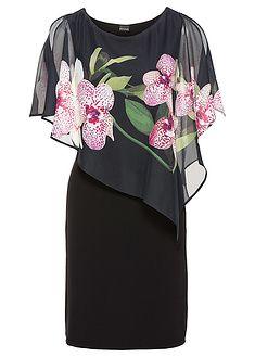 Sukienka z szyfonową narzutką Lekka • 119.99 zł • bonprix